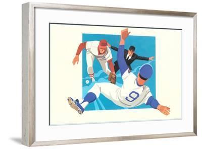 Safe on Base--Framed Art Print