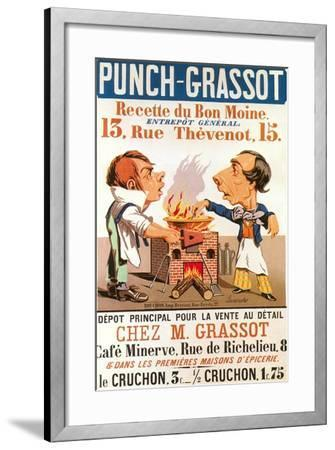 Ad for Punch-Grassot--Framed Art Print