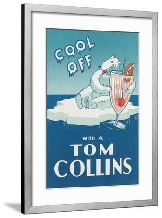Cool Off with a Tom Collins--Framed Art Print