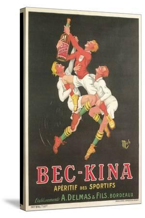 Poster for Bec-Kina Apertif--Stretched Canvas Print