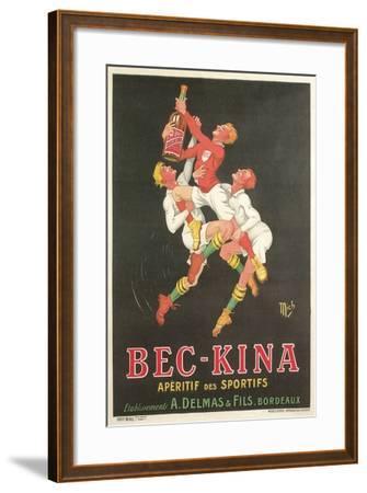 Poster for Bec-Kina Apertif--Framed Art Print