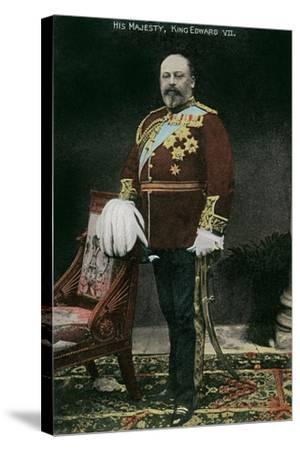 King Edward VII of England--Stretched Canvas Print