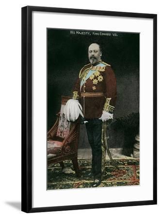 King Edward VII of England--Framed Art Print
