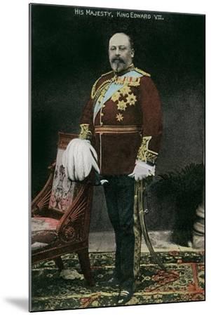 King Edward VII of England--Mounted Art Print