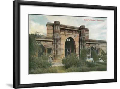 Queen's Mosque, Ahmedabad, India--Framed Art Print