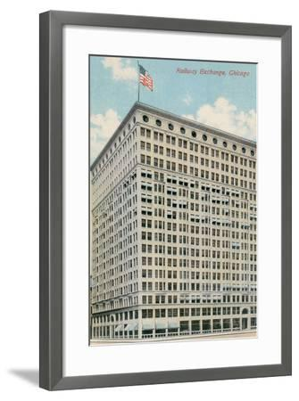 Railway Exchange Building--Framed Art Print