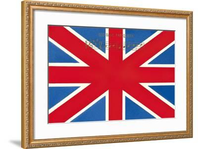 Union Jack--Framed Art Print