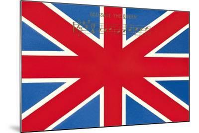 Union Jack--Mounted Art Print