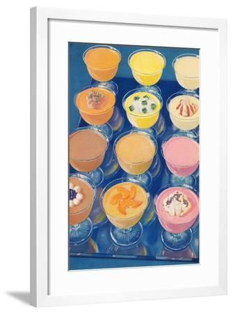 Puddings on Parade--Framed Art Print