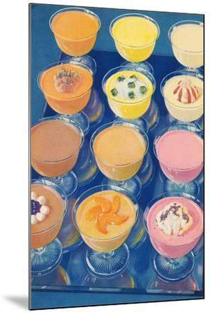 Puddings on Parade--Mounted Art Print