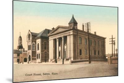 Courthouse, Salem--Mounted Art Print