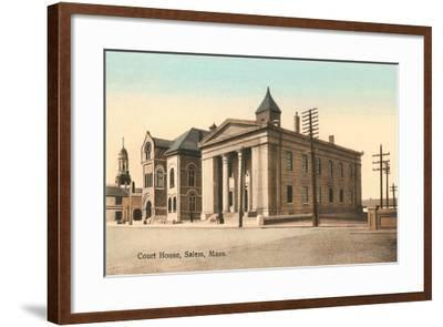 Courthouse, Salem--Framed Art Print