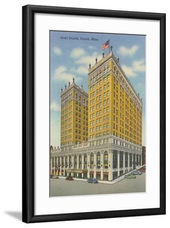 Hotel Duluth--Framed Art Print