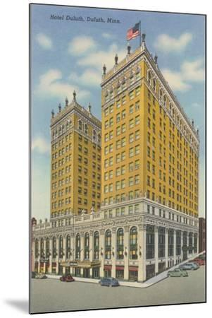 Hotel Duluth--Mounted Art Print