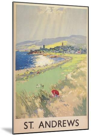 Poster of St. Andrews Golf Course--Mounted Premium Giclee Print