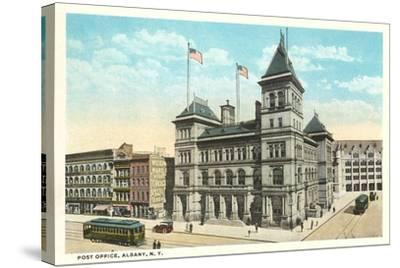 Post Office, Albany--Stretched Canvas Print