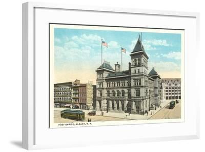 Post Office, Albany--Framed Art Print