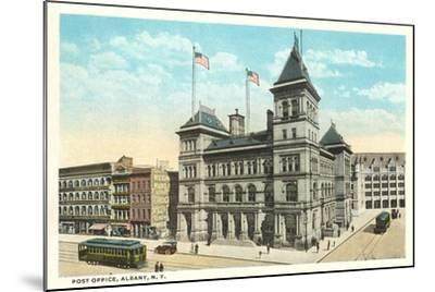Post Office, Albany--Mounted Art Print