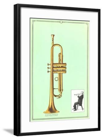 Trumpet--Framed Art Print