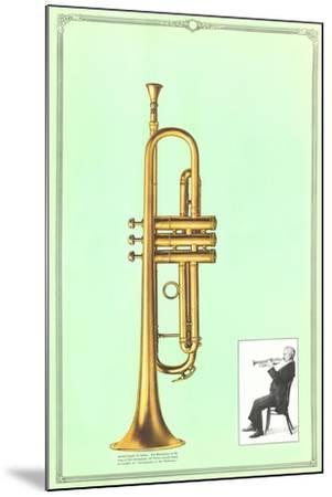Trumpet--Mounted Art Print