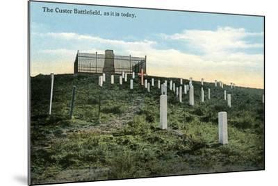 Custer Battlefield--Mounted Art Print