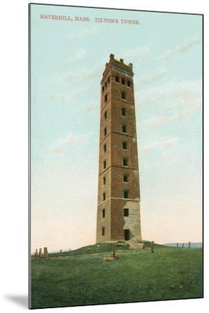Tilton's Tower, Haverhill--Mounted Art Print