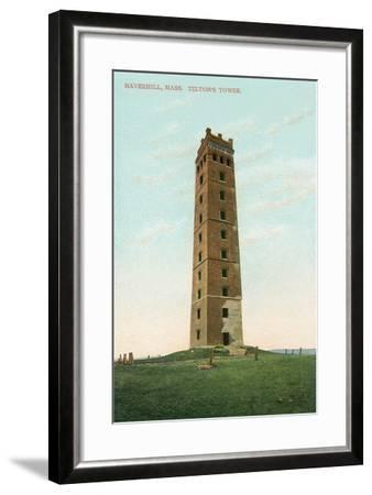 Tilton's Tower, Haverhill--Framed Art Print