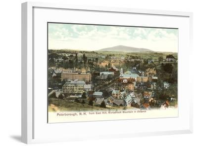 Downtown Peterborough--Framed Art Print