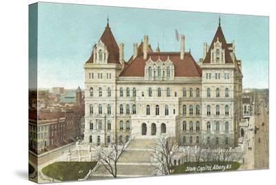 State Capitol, Albany--Stretched Canvas Print