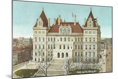 State Capitol, Albany--Mounted Art Print