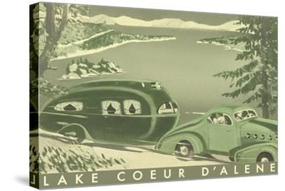 Lake Coeur D'Alene--Stretched Canvas Print