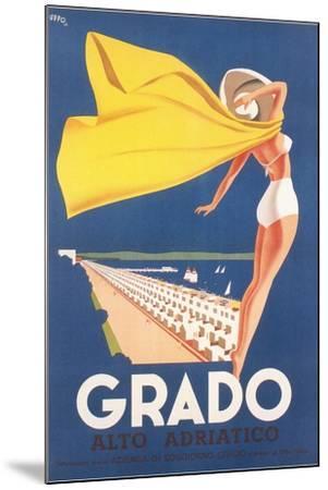 Travel Poster for Grado--Mounted Art Print