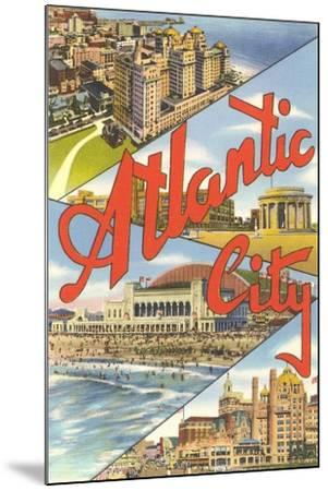 Scenes from Atlantic City--Mounted Art Print