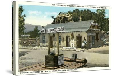 Pigeon Ranch, Glorieta Pass--Stretched Canvas Print