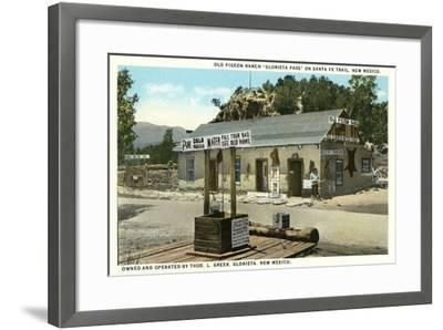 Pigeon Ranch, Glorieta Pass--Framed Art Print