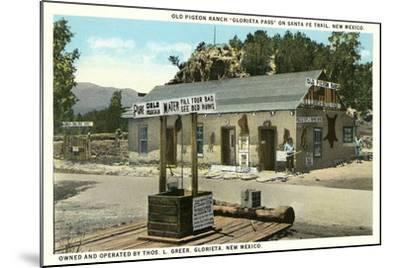Pigeon Ranch, Glorieta Pass--Mounted Art Print