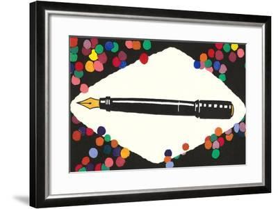 Fountain Pen--Framed Art Print