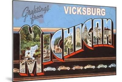 Greetings from Vicksburg--Mounted Art Print