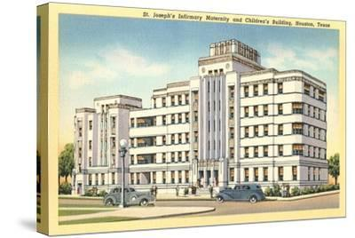 St. Joseph's Infirmary, Houston--Stretched Canvas Print