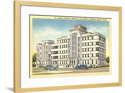 St. Joseph's Infirmary, Houston--Framed Art Print
