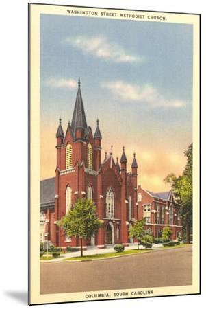 Washington Street Methodist, Columbia--Mounted Art Print