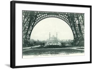 View of the Trocadero from Eiffel Tower--Framed Art Print