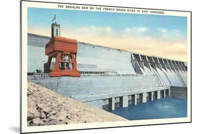 TVA Douglas Dam--Mounted Art Print