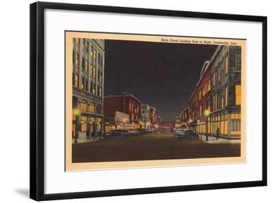 Main Street, Painesville--Framed Art Print
