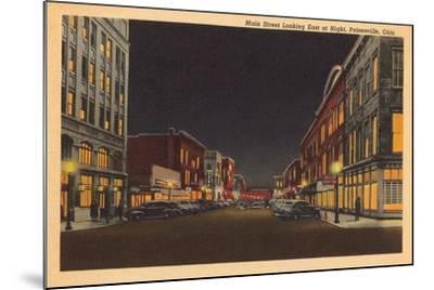 Main Street, Painesville--Mounted Art Print
