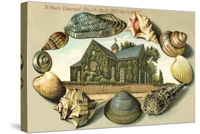 St. Paul's Episcopal Church, Norfolk, VA--Stretched Canvas Print