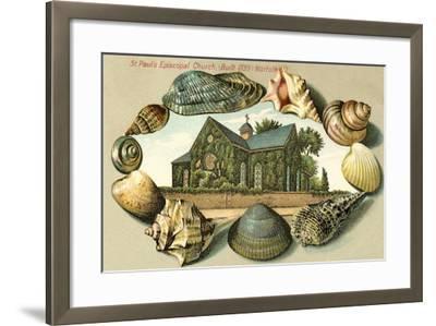 St. Paul's Episcopal Church, Norfolk, VA--Framed Art Print