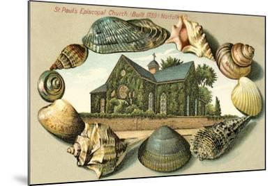 St. Paul's Episcopal Church, Norfolk, VA--Mounted Art Print