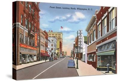Front Street, Wilmington--Stretched Canvas Print