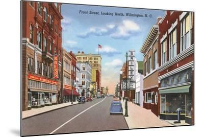 Front Street, Wilmington--Mounted Art Print